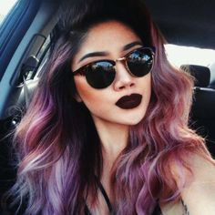 lip for pastel purple hair - Google Search