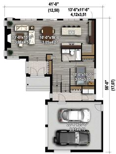 Attractive 3 Bed Contemporary House Plan - 80800PM   2nd Floor Master Suite, Butler Walk-in Pantry, CAD Available, Canadian, Contemporary, MBR Sitting Area, Metric, PDF   Architectural Designs