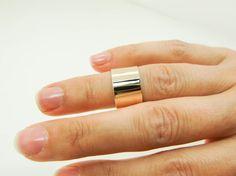 Gold Midi Ring Real 14 Karat Yellow Gold Midi by Lovethebugs Black Tees, Sterling Silver Midi Rings, Real Gold Jewelry, Gold Jewellery, Gold Sheets, Girls Jewelry Box, 14 Karat Gold, Accessories, Yellow