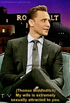 tomhiddleston-gifs: Loki vs Tom Hiddleston. Gif-set: http://maryxglz.tumblr.com/post/153131414717/tomhiddleston-gifs-loki-vs-tom-hiddleston