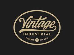 In this post, we are featuring a collection of 33 vintage typographic logos that showcase a range of creative design ideas. We hope that you'll be able to draw some inspiration from them for your own vintage logo design. Vintage Logo Design, Vintage Typography, Vintage Fonts, Graphic Design, Vintage Labels, Retro Design, Design Design, Design Ideas, Vector Logos