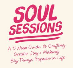 A 5 Week Guide To Crafting Greater Joy And Making Big Things Happen In Life | Danielle Dowling