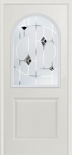 Our Pelmo Murano #composite #door in white.