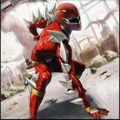 Red dino thunder ranger