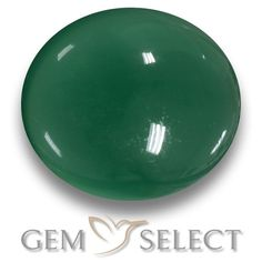 GemSelect features this natural Agate from India. This Green Agate weighs 7.8ct and measures 13.2 x 11.8mm in size. More Oval Cabochon Agate is available on gemselect.com #birthstones #healing #jewelrystone #loosegemstones #buygems #gemstonelover #naturalgemstone #coloredgemstones #gemstones #gem #gems #gemselect #sale #shopping #gemshopping #naturalagate #agate #greenagate #ovalgem #ovalgems #greengem #green Green Gemstones, Loose Gemstones, Natural Gemstones, Buy Gems, Gem Shop, Green Agate, Gemstone Colors, Shades Of Green, Stone Jewelry