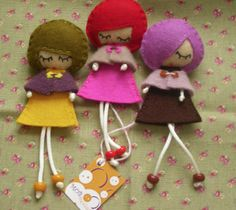 doll brooches