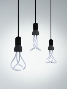 The start of things to come I hope. I can't afford these at this price but if they could offer these slick designs for the same price as other energy saver bulbs, I know which one I would reach for. Modern Interior, Interior And Exterior, Lamp Light, Light Bulb, Douglas And Bec, Globe Lights, Light Globes, Energy Saver, Fancy Schmancy