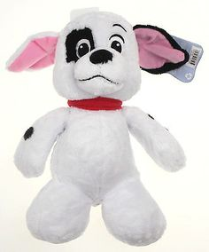 """Disney's 101 Dalmatians Patch the Dalmatian Plush stuffed toy Patch is soft and cuddly and stands 11"""" tall The tag says """"Patch is an adorable pup. He loves to hug; just pick him up!"""" Your browser does"""