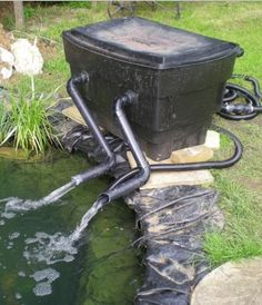 10 DIY Pond Filter For Easy Cleaning Of Backyard Pond Water .