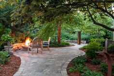 Outdoor living spaces, like patios, fire pits and outdoor kitchens, can extend your home's entertaining areas. Let us help with your outdoor living space!