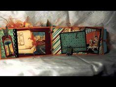 Beach Envelope Mini Album