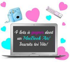 Participe au jeu concours de la Business Girl Academy pour gagner un Macbook Air!