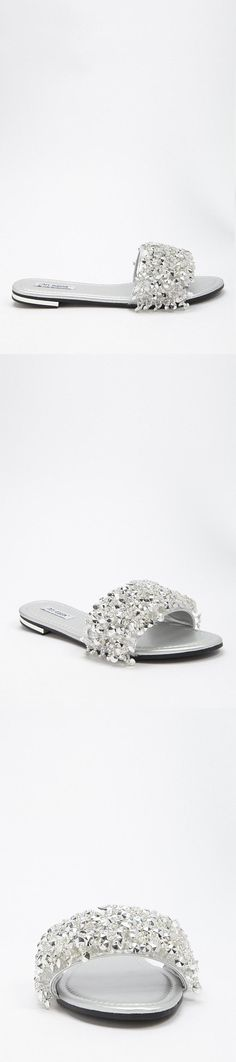 32cd8b606f4fa0 Bead Embellished Slides    25.00 USD    Forever 21 Forever 21 Shoes