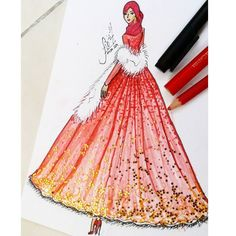 #illustrations #illustrator #illustration #fashionista #fashiondesign #design #fashionillustration #draw #fashionsketch #fashion #sketch #sketching #drawing #instagood #art #artist #style #red @glowing.boutique by firsaisda