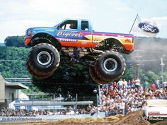 Ford sort of Lifted Trucks