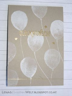 Partyballons / Balloon Celebration / Stampin Up