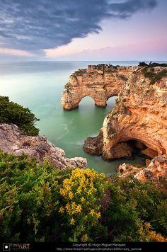 Marinha beach in Algarve, Portugal. By Hugo Miguel Marques.