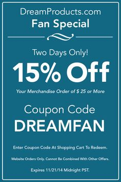 384dc9fa86d79 Two days only! Get 15% your order of  25 or more with coupon code