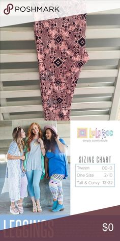 #LuLaRoe #Pink #Navy #Aztec Print #Leggings TC 14 #LuLaRoe #Pink #Navy #Aztec Print #Leggings TC 14 LuLaRoe Pants Leggings