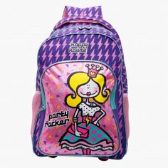 Party Rocker Printed Trolley Backpack House Illustration, Illustrations, Happy House, Girl Backpacks, Baby Shop, Backpack Bags, Girl Outfits, Printed, Children