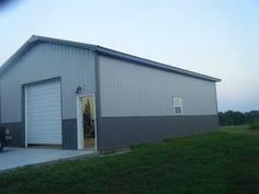 Pole barns living quarters mark holland construction for 24x40 garage kit