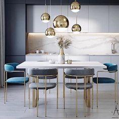 Kitchen Room Design, Home Room Design, Kitchen Cabinet Design, Modern Kitchen Design, Dining Room Design, Home Decor Kitchen, Interior Design Kitchen, Kitchen Furniture, Home Kitchens