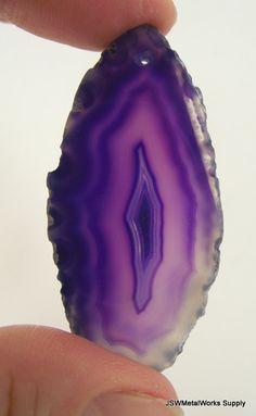 Purple Agate Slice by JSWMetalWorksSupply