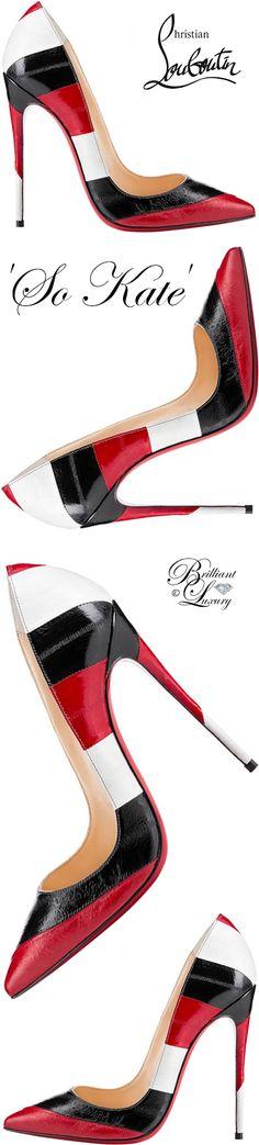 1d337d9fceb0 Brilliant Luxury by Emmy DE ♢ Christian Louboutin  So Kate