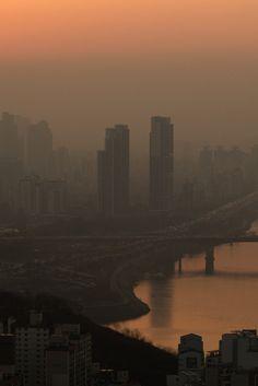 한국이 세계 최악의 공기오염 국가에 등극했다