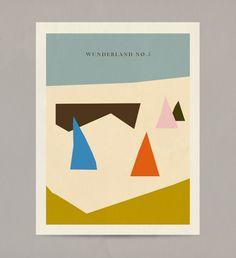 Wunderland by anna kövecses, via Behance