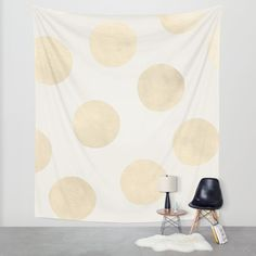 Buy Gold Polka Dots Wall Tapestry by Georgiana Paraschiv. Worldwide shipping available at Society6.com. Just one of millions of high quality products available.