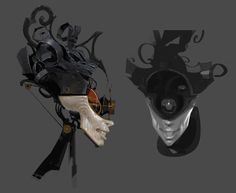 Clockwork Soldier Head from Dishonored: Death of the Outsider