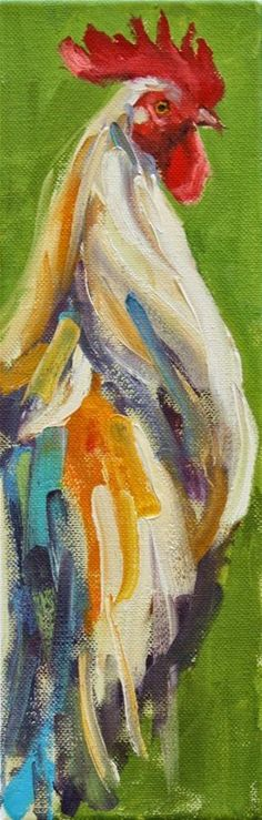 "Love these ""juicy"" brushstrokes and texture in this Daily Paintworks - Carol Carmichael"