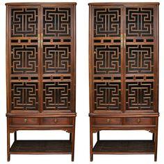 Chinese furniture Boudoir with lattice work