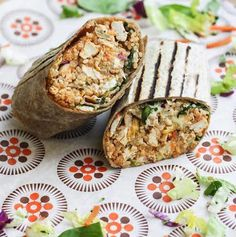 Best Healthy Lunches in the Chicago Loop   buffalo burrito from the Protein Bar in Chicago Loop
