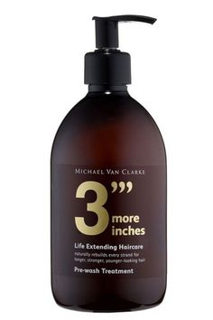Michael Van Clarke 3 More Inches - While you sleep treatment. best creation known to man - my hair grows long and fast naturally as it is, but if i ever get a bad hair cut, this makes it aaaallll better. i feel like it helps my hair and give it a boost at times.