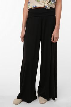 I have way, way you many high waisted, wide leg black pants. Far, far TOO many.                                     Staring at Stars Wide-Leg Lounge Pant