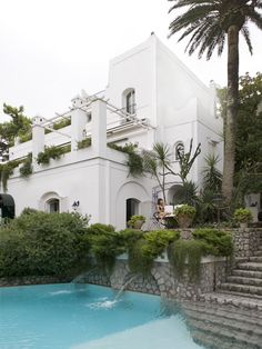 Villa Le Scale in Anacapri overlooking the Bay of Naples, Capri, Italy  PHOTO Robyn Lea for issue #7