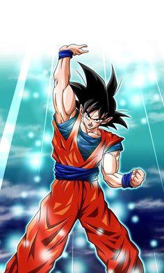 Goku - Dragon ball Z Dbz, Goku Y Vegeta, Dragon Ball Z, Dragon Ball Image, Anime Echii, Z Wallpaper, Epic Characters, Journey To The West, Akira