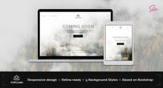 Portland — Creative Coming Soon & Maintenance Mode TemplatePortland is a creative, professional, responsive HTML5 coming soon template, perfect to keep your audience informed about the official website launch. It has been built using the new Twitter Bootstrap3 framework and can be easily and rapidly customized. Portland is built with the latest HTML5 and CSS3 technologies, is well documented and easy to setup and customize.