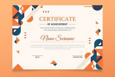 Certificate Of Appreciation, Certificate Of Achievement, Award Certificates, Attendance Certificate, Beauty Business Cards, Cool Business Cards, Business Card Design, Eid Stickers, Free Printable Business Cards