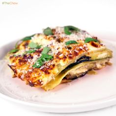 Vegetable Lasagna by Michael Symon! #TheChew