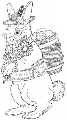 Rudi Bunny – Embroidery pattern … would look really nice is all brown thread and framed -probably take me YEARS […] Make your world more colorful with free printable coloring pages from italks. Our free coloring pages for adults and kids. Easter Egg Coloring Pages, Coloring Book Pages, Printable Coloring Pages, Coloring Pages For Kids, Free Coloring, Paper Embroidery, Embroidery Patterns, Art Visage, Jan Brett