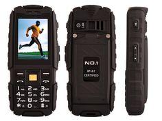 NO.1 Original A9 IP67 Waterproof Dual SIM Card Cell Phone 4800mAh 2.4'' Radio FM #DTNOI