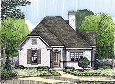 Plan HC  Country Farmhouse Classic   French Country  French    Plan GT  Intimate Study
