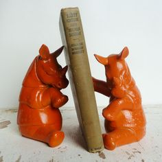 Rhino Bookends design inspiration on Fab.