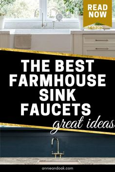 Best Kitchen Faucets, Best Faucet, Farmhouse Sink Kitchen, Farmhouse Decor, Fixer Upper Show, Honeycomb Tile, Butcher Block Countertops, Exposed Wood, Kitchen Styling