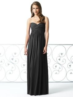 Some day I will have a reason to own a dress just like this and I will wear it with a HUGE diamond necklace :)