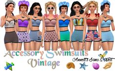 "Accessory Swimsuits ""Vintage"""