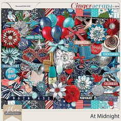 At Midnight Kit by JoCee Designs  #digitalscrapbooking#digiscrapping#digitalart#scrapbooking#makingmemories#Midnight#new year#new years' eve#auld lang syne#happy new year#balloons#champagne#fireworks#party#hat#noise maker#mask#clock#bling#disco ball#countdown#cork#glass#new beginnings#gingerscraps#joceedesigns